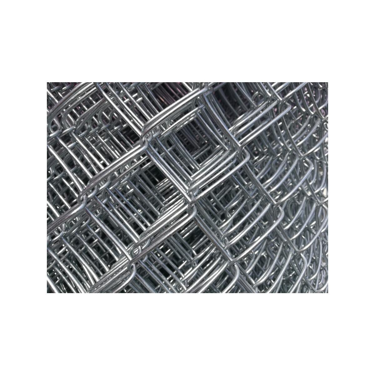 Diagonalgeflecht MW 50 x 50 mm, Draht 2.5 mm - ### REAL ZÄUNE AG ###